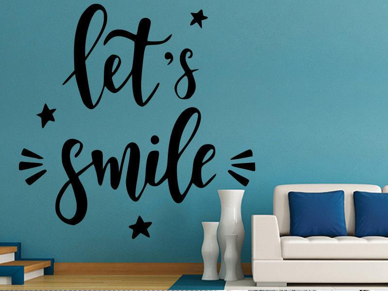 Smile Poster Motivational Print Art Inspirational Quotes Quote Kids