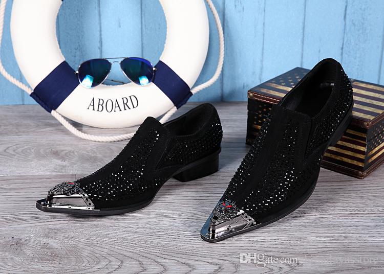 Plus Size 38-46 New Italian style Luxe Robe Hommes Mocassins en cuir véritable soirée de mariage pour hommes Chaussures de Flats Hommes