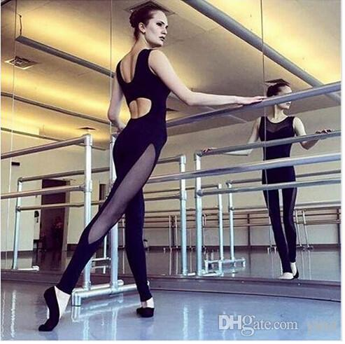 d47262744636 2019 Kaywide Running Fitness Jumpsuit Rompers Sport Skinny Mesh Patchwork  Bodysuit Slim Plus Size Hollow Out Playsuit Women Macacao From Yinji
