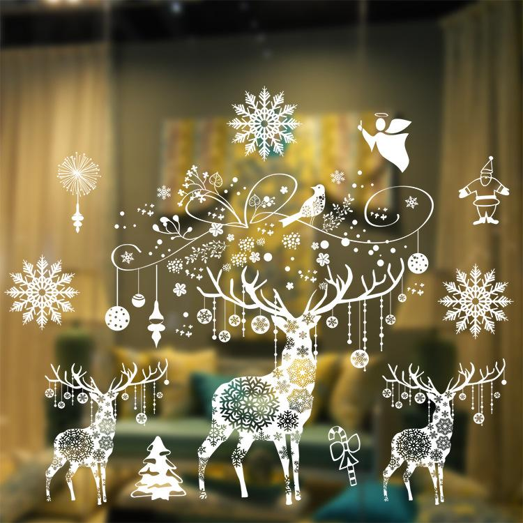 Merry Christmas Decorations 2016 merry christmas snow flake shop window or glass background