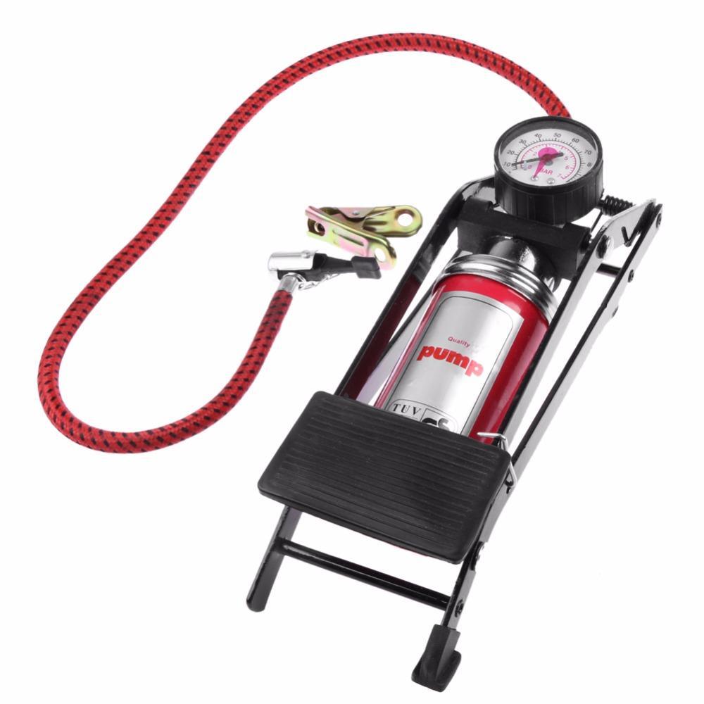 2018 Newest Car Air Compressor High Pressure Foot Air Pump