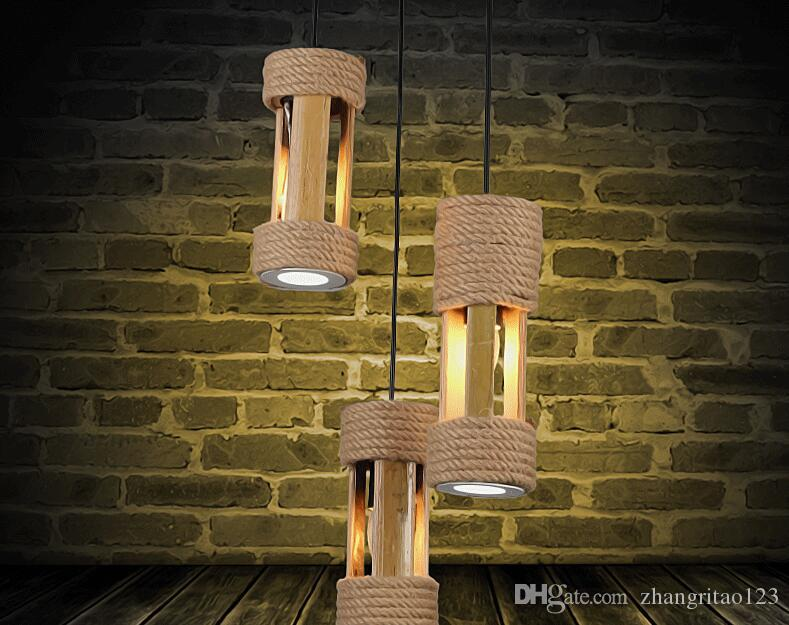 See larger image & Discount Fashion Bamboo Pendant Lights Fixture Single Head Led ... azcodes.com