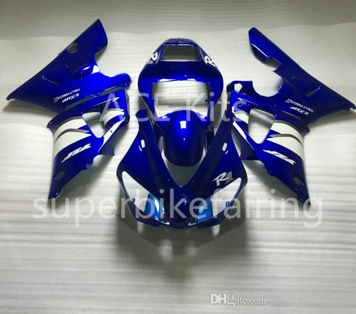 3Gifts New Hot sales bike Fairings Kits For YAMAHA YZF-R1 1998 1999 R1 98 99 YZF1000 Cool Blue White SX29