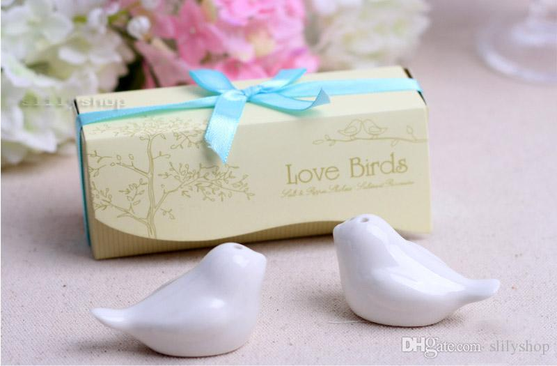 Personalized Wedding Favors And Gifts For Guest Love Bird Salt Pepper Shaker Wedding Favors And Gifts For Guests Souvenirs Decoration