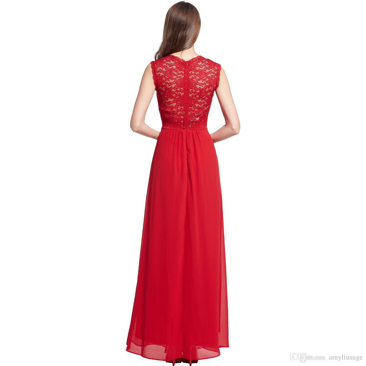 Ballkleid-Abschlussball-Maxi lange Chiffon- Abend-formales Partei-Hochzeits-Brautjunfer-Kleid-Cocktail-Partykleid 3193 der freien Verschiffenfrauen