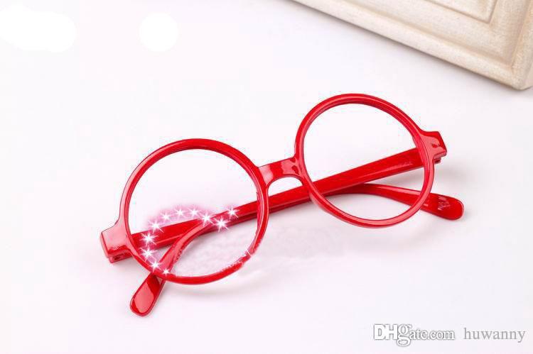 안경 프레임 패션 여자 안경 렌즈없이 선글라스 슈퍼 라이트와 멋진 프레임 안경 Muti-color 0006GLS-100
