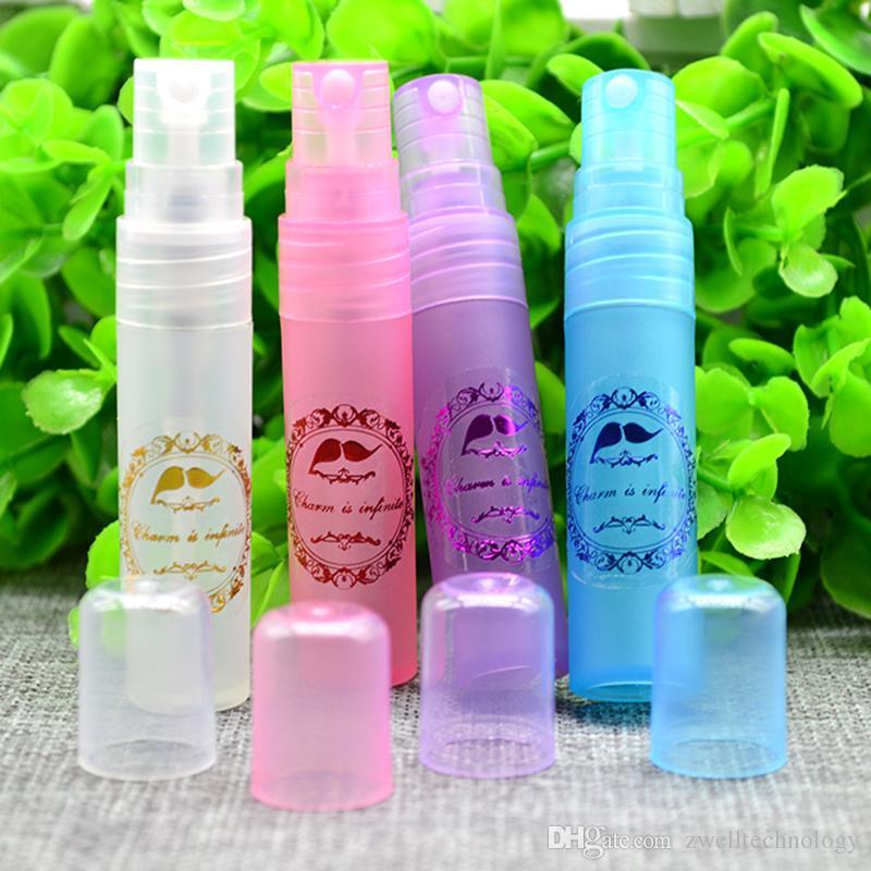 2 мл 3 мл 5 мл 10 мл небольшой флакон для духов косметический контейнер для макияжа для тонера пластиковая трубка со многими цветами