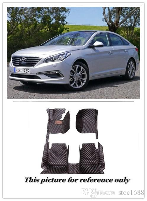 Wonderful 2018 Scot All Weather Leather Floor Mats For Hyundai Sonata 2015 2017  Waterproof Anti Slip Front U0026 Rear Carpet Custom Fit Left Hand Driver Model  From ...