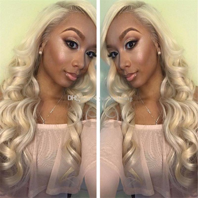 2017 popular 613 blonde russian hair 100 human hair loose wave lace
