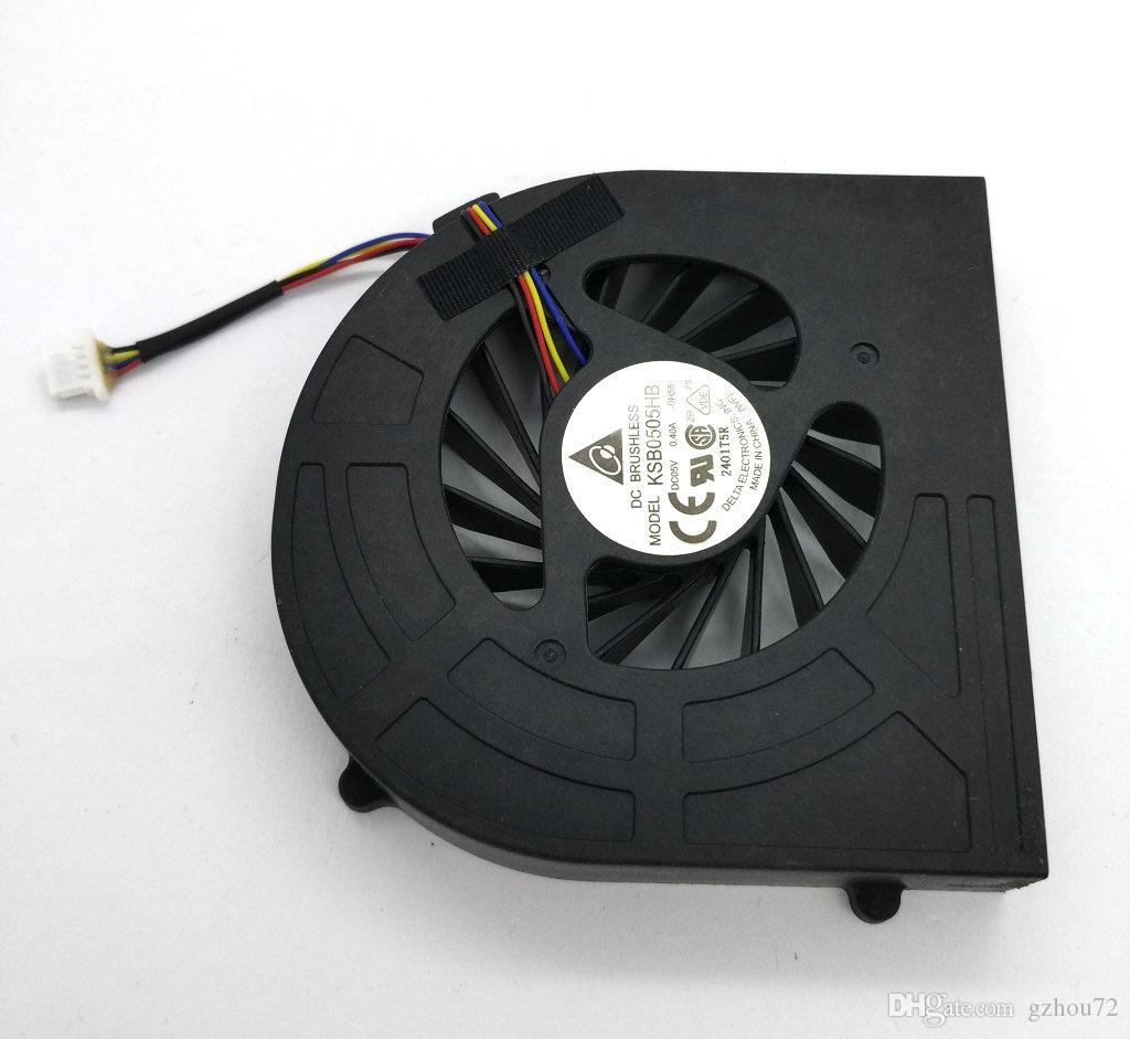 جديد الأصلي محمول cpu تبريد تبريد المبرد مروحة ل hp probook 4520 4520 ثانية 4525 ثانية 4720 ثانية KSB0505HB-9H58 DC5V 0.40A