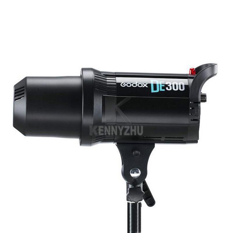 مجانا dhl 110 فولت / 220 فولت godox DE300 900 واط / 3x300 واط 300WS ستوديو ضوء فلاش ستروب الإضاءة كيت + 70x100 سنتيمتر softbox + ضوء موقف + حمل حقيبة