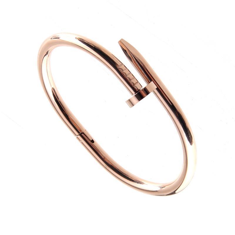 Wholesale-Simple Gold Rivet Bracelet, Latest Gold Bangle Designs ...
