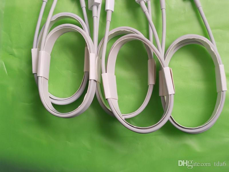 1m OD 3.0mm AAAA USB USB Data Charger usb Cable con papel de aluminio con caja al por menor