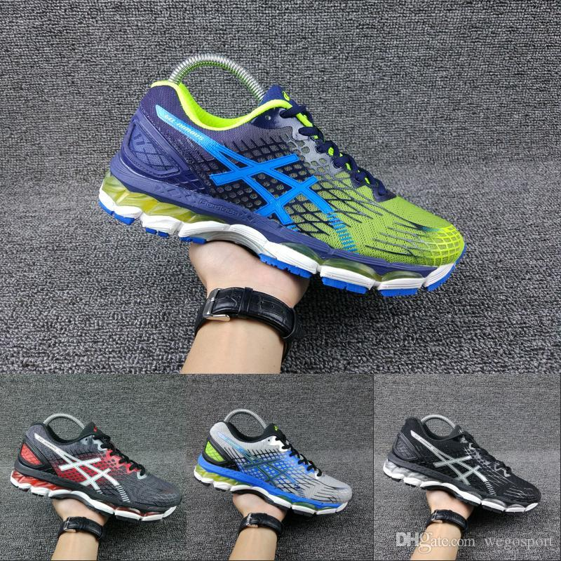2018 Wholesale Asics Running Shoes Nimbus17 Original For Men Black ... f330d16b381b