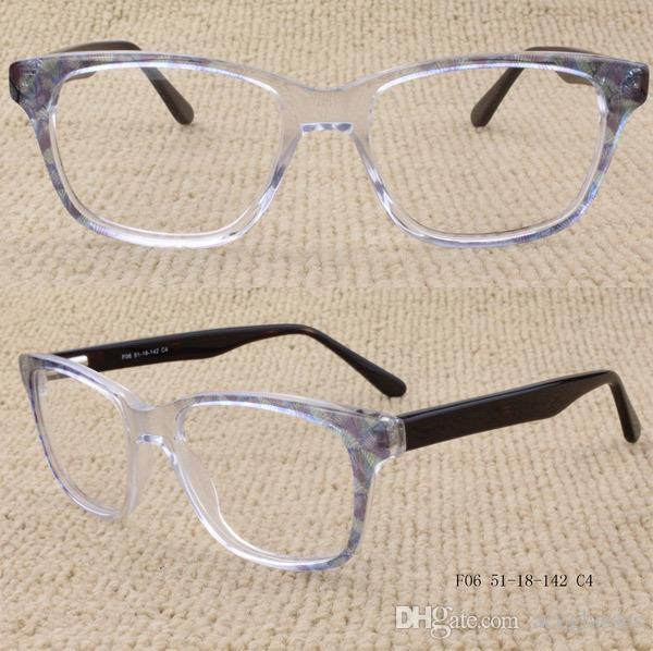 4c4e0c6775 Women Acetate Frames Spring Loaded Hinges Clear Transparent Prescription  Glasses Glasses Frame Online with  23.9 Piece on Aceglasses s Store