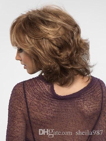 African American Short Curly Wigs Cheap Wigs For Black Women Rihanna Style Hair Curly Bob Wigs With Bangs