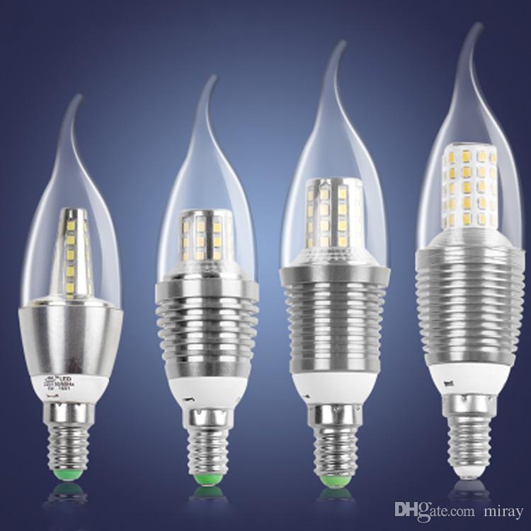 Hersteller Großhandel Starlight Kerzenlampe LED warm dreifarbige Glühbirne e14e27 ziehen Schwanz Glühbirne 5W7W9W