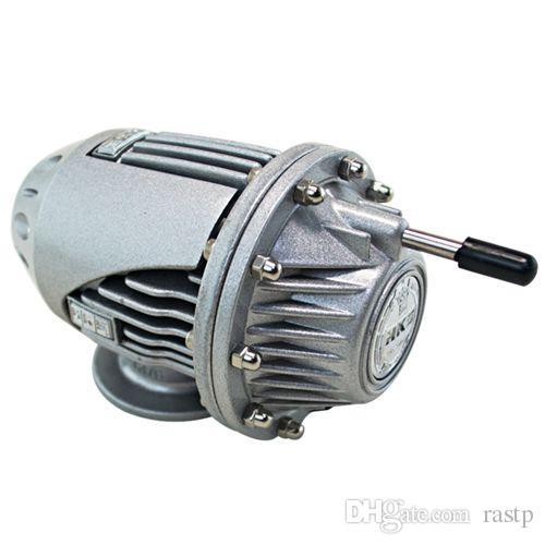 RASTP - Universal HKS Turbo SQV4, valvola di scarico, BOV, vendita di produttori nero / argento, non originale RS-BOV007