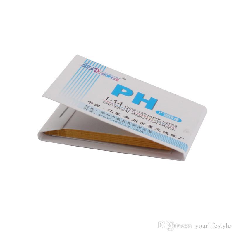 Indicatore di pH strisce reattive acido alcalino del tester della carta 1-14 Carta Laboratorio tornasole alimentari Urine Lab Soil Tester corpo