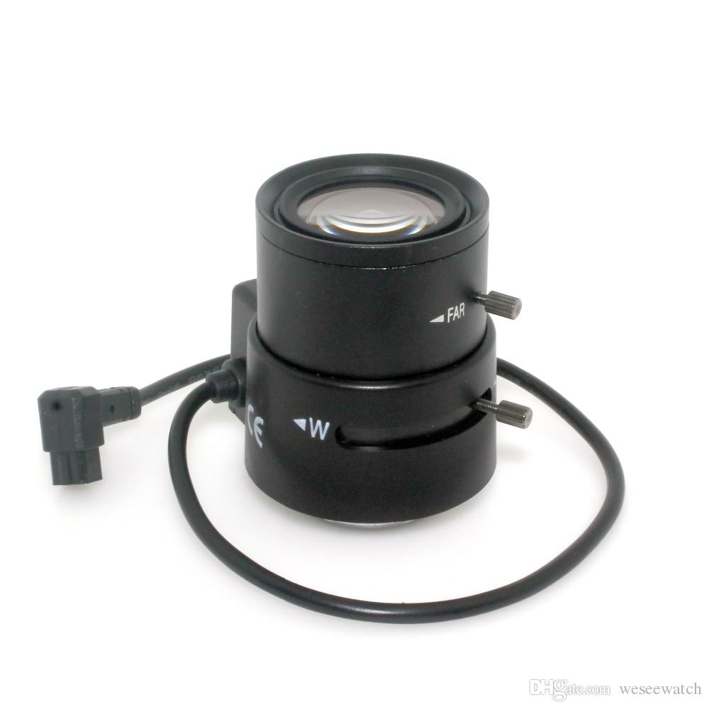 Japan imports 3.5mm-8mm Auto Iris lens CS Mount Varifocal Manual Iris CCTV Lens for CCTV Security Cameras