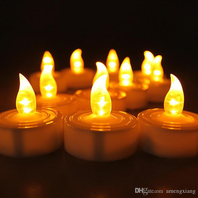 2018 Led Electronic Candles Decorate Wedding With