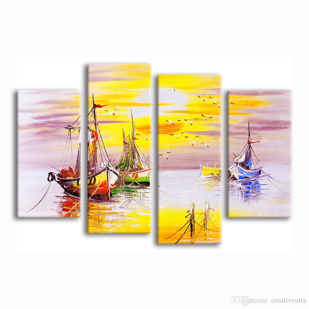 Abstract Seascape Oil Painting Prints Modern Giclee Printing on ...