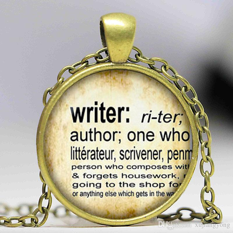 Wholesale writer pendant vintage dictionary definition of writer wholesale writer pendant vintage dictionary definition of writer word pendant word writer jewelry glass cabochon necklace silver charms rose pendant aloadofball Choice Image