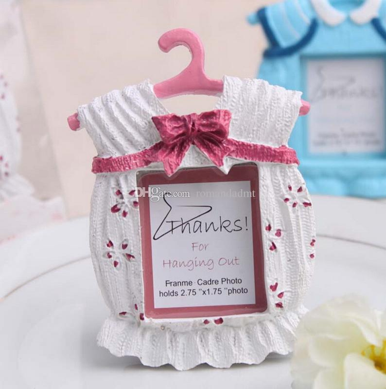 Cute Baby Themed Photo Frame Resin Clothes Mini Photo Frame Wedding