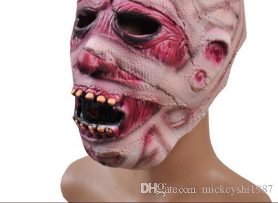 Halloween Horror Mask Party Decorating Props Super Horror Zombie Mummy Zombie Mask Halloween Adult Mask Bloody Scary Extremely Disgusting