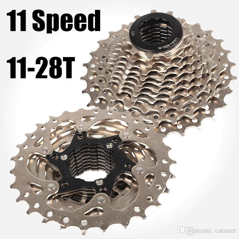 Catazer 11 Speed 11 28t Kassette Freilauf Bmx Rennrad Fahrrad Fahrrad Fahrrad Freilauf Hinterrad Kassette Freilauf Freies Verschiffen