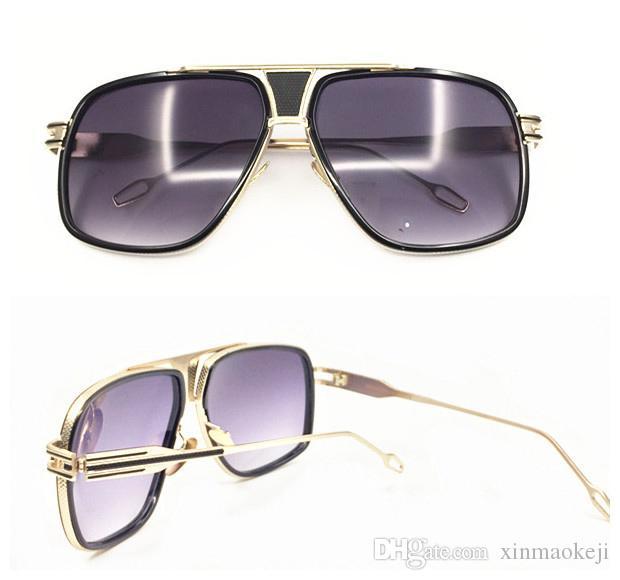 26addc3636 Compre Gafas De Sol Calientes De La Venta De La Venta Al Por Mayor Del  Diseñador De La Marca Gafas De Sol De La Vendimia Señora Mujeres Sombras  Negras ...