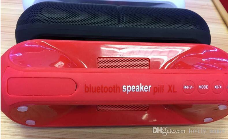 Hot sell XL Bluetooth Speaker XL with Retail Box Black Color red blue white pink