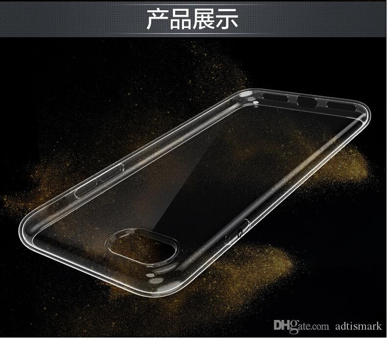 Crystal Hard Plastic Clear Transparent Back cover case for iphone7 7Plus 6 6Plus 5S 5C SE Galaxy S6 S7Edge S5 Note7 5