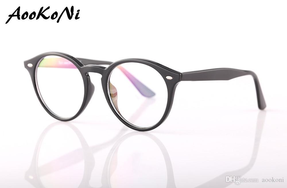 Compre Aookoni Gafas Ópticas Hombres Gafas Marcos Ópticos Marcos De ...