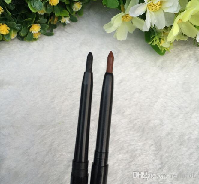 أسود المهنية للماء السائل كحل التلقائي دوران delineador قلم رصاص التجميل العين الحاجب الجمال ماكياج الجمال كوميستيك