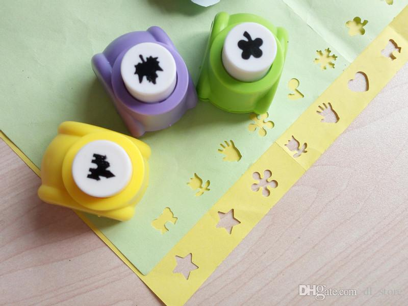 Mini craft hole punch Paper hollow pattern cutter Creative stationery DIY hand crafts tools children's gifts DL_CR014