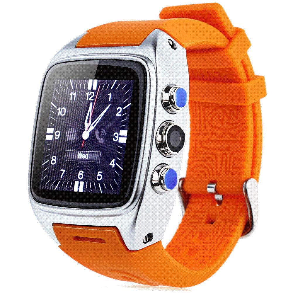 ORDRO SW16 Android 4.4 IP67 Waterproof Smart Watch WiFi 3G SIM Smartwatch TF Card 600mAh 3.0MP Camera GPS Wristwatch 512MB 4GB