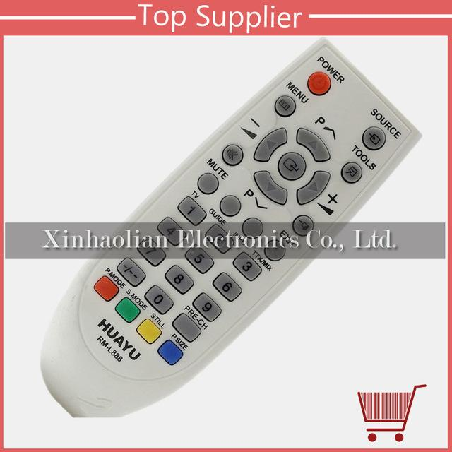 Wholesale- RM-L888 REMOTE CONTROL USE FOR SAMSUNG LCD / LED / TV BY HUAYU  FACTORY