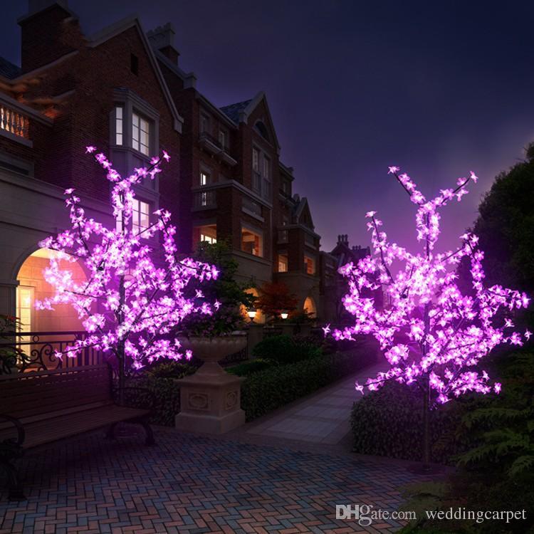 15m5ft height outdoor artificial christmas tree led cherry blossom tree light leds straight tree trunk xmas decorating xmas decoration from weddingcarpet