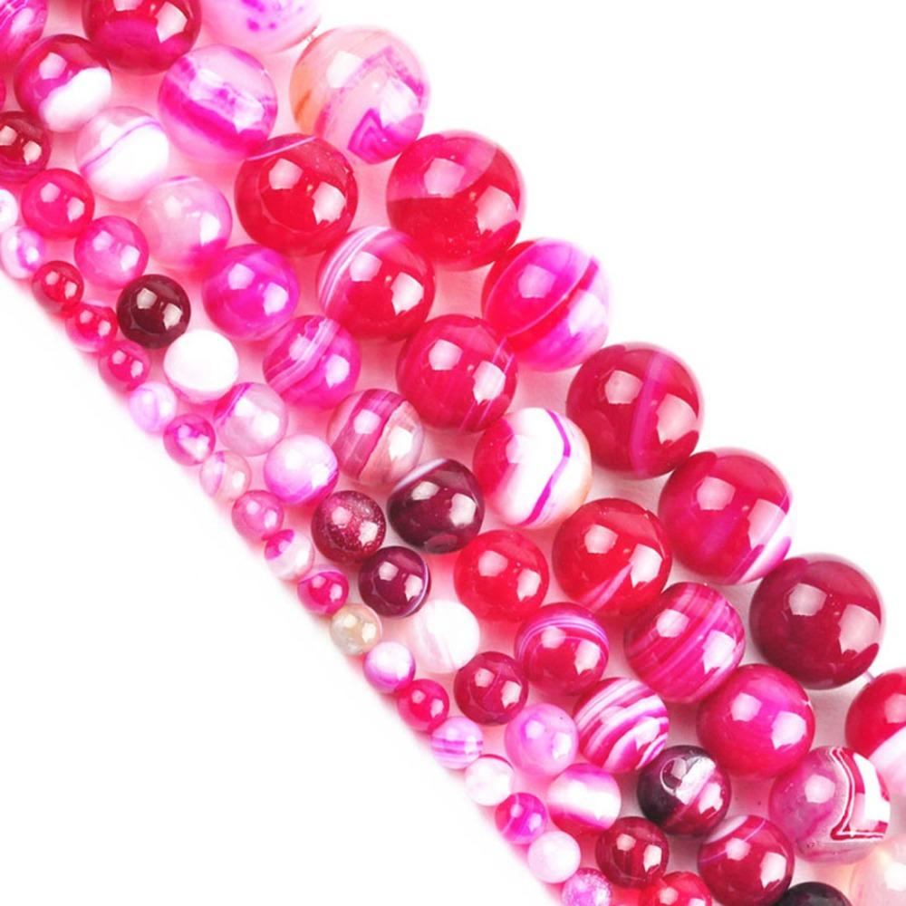 Beads Free Shipping 6 8 10mm Natural Stone Beads Bracelet Round Bosi Stone Purple Color For Jewelry Making Beads & Jewelry Making