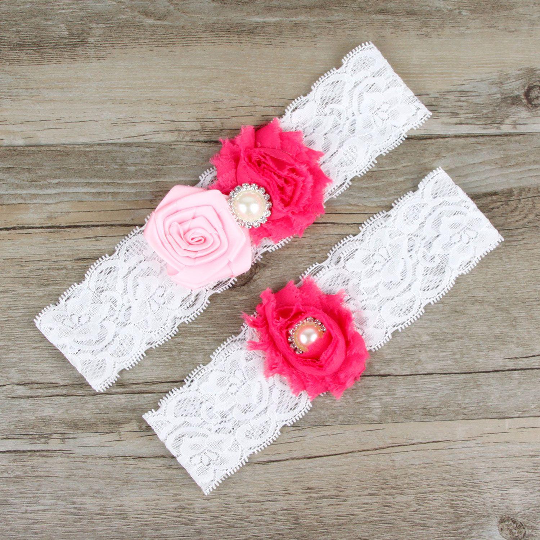 Plus Size Wedding Garters: 2019 Wedding Garter Pink Bridal Belt For Women Plus Size