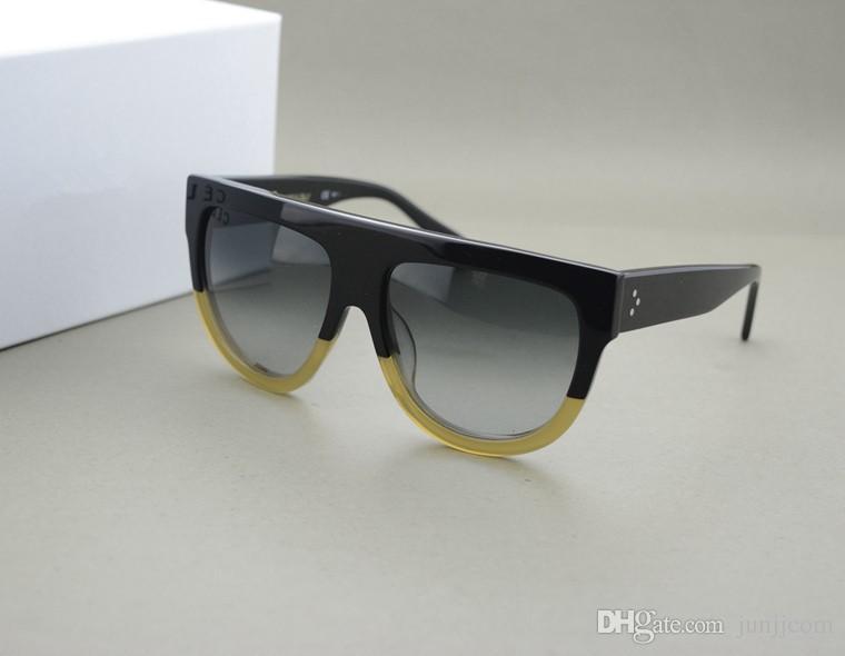 HOT !!! 2017 Neue Ankunft Frankreich Markendesigner Original CL41026 Schatten FU9DV Frauen Elegante sonnenbrille frau Oculos De Sol