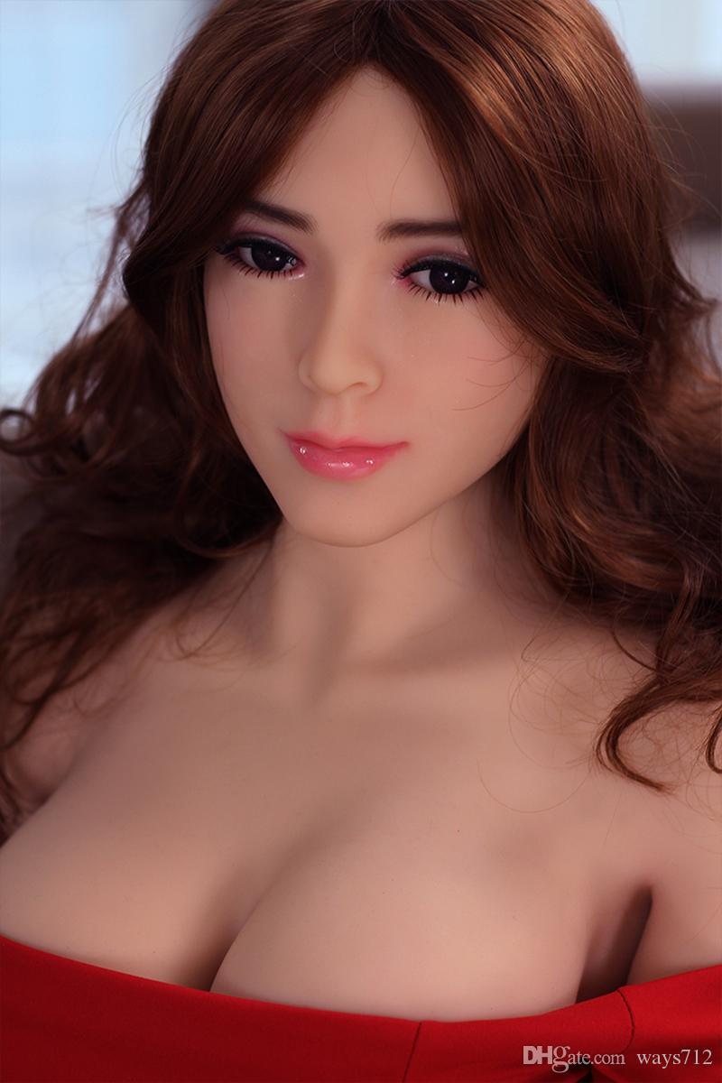 165CM Flesh Silicone Realistic Slender Plump Sex Dolls Lifelike Big Hips Love Doll Sex Toys For Man Masturbation With Big Chest