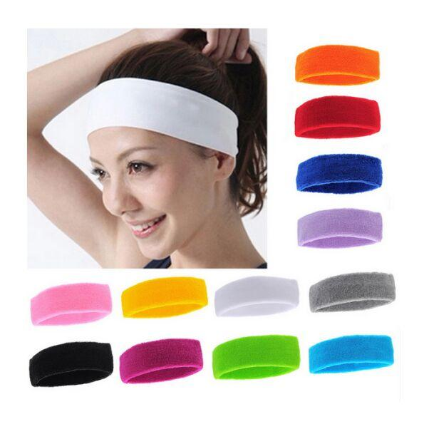 Pure Cotton Lady Girls Running Sports Sweatband Sweat Absorbing Sports Women  Yoga Headband Sports Protective Safety Protector Head Band UK 2019 From ... e18948383a