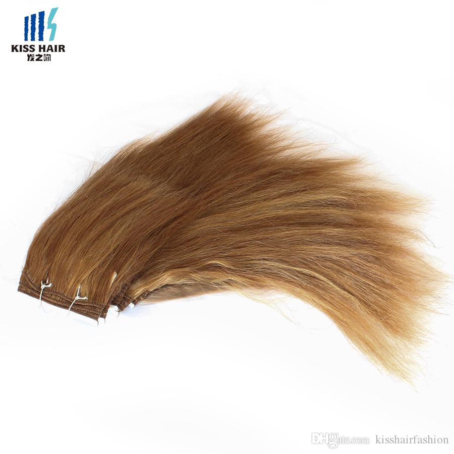 Piano Color Hair Weave P1b/30 P27/30Blonde Wet and Wavy Brazilian Human Hair Short Bob Style Wet Kiss Hair