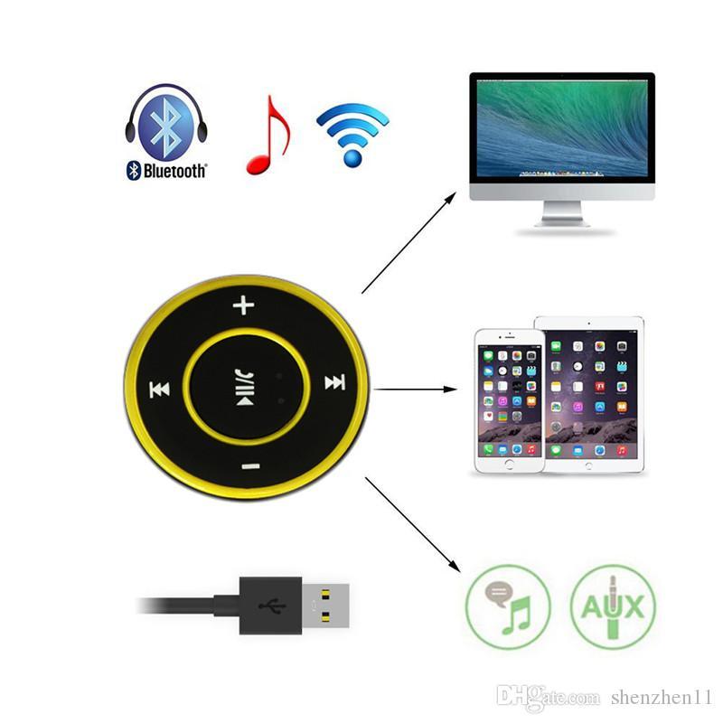 AD-A26 Mini Wireless Auto Bluetooth Empfänger AUX Musik Stereo Audio Adapter 3,5mm Aux-Buchse für Kopfhörer Lautsprecher OTH081