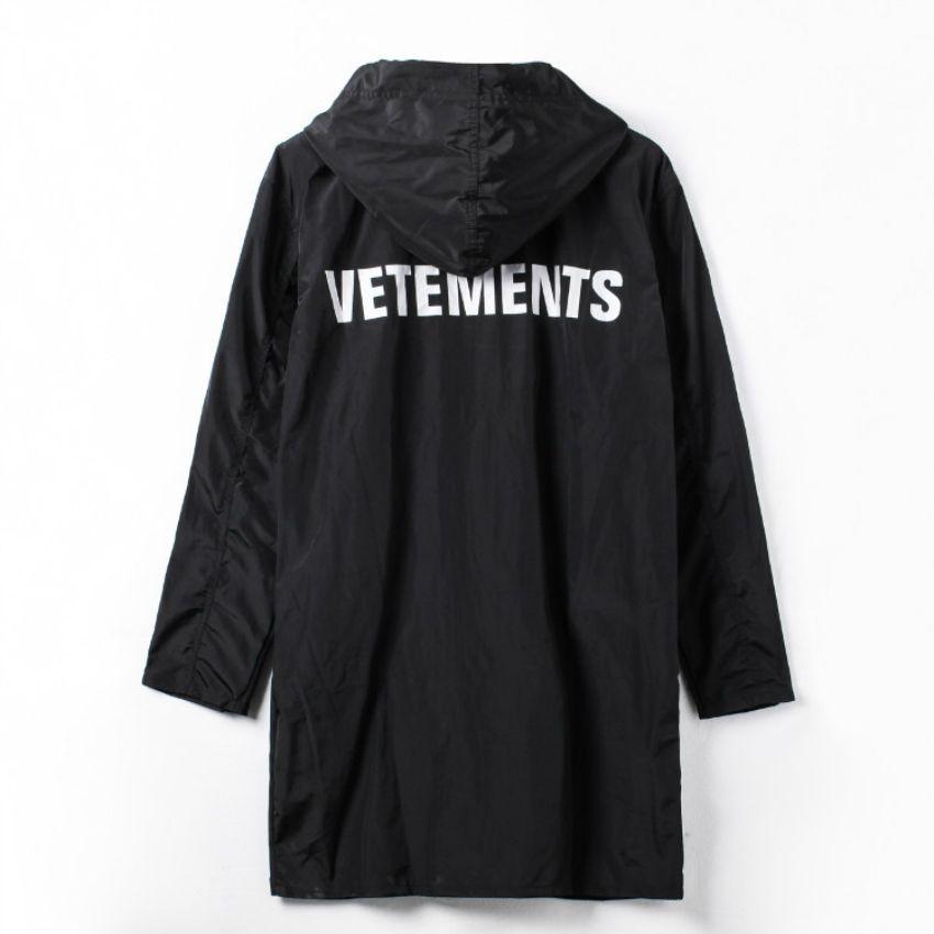 0b88db9bd294d Wholesale VETEMENTS POLIZEI OVERSIZED KANYE WEST Jacket Big Bang Extended Rain  Coat Men Women Windbreaker Trench Waterproof Jacket Coats Nice Mens Coats  ...