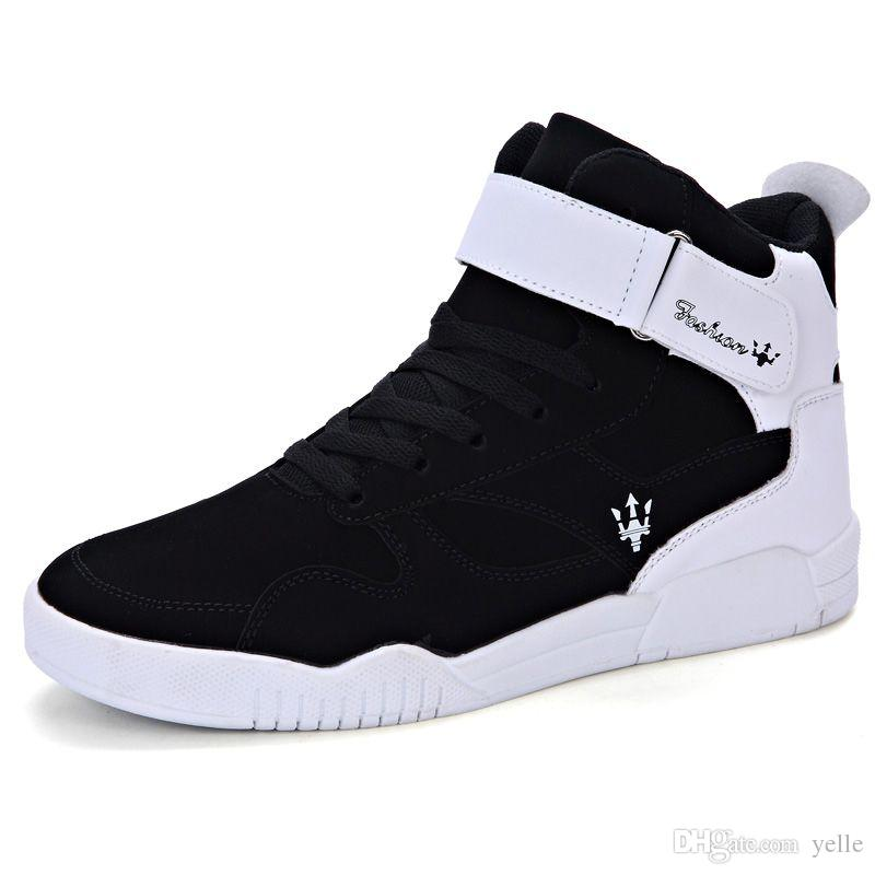 2016 High Top Shoes Men 'S Korean Version Men' S Leisure ...