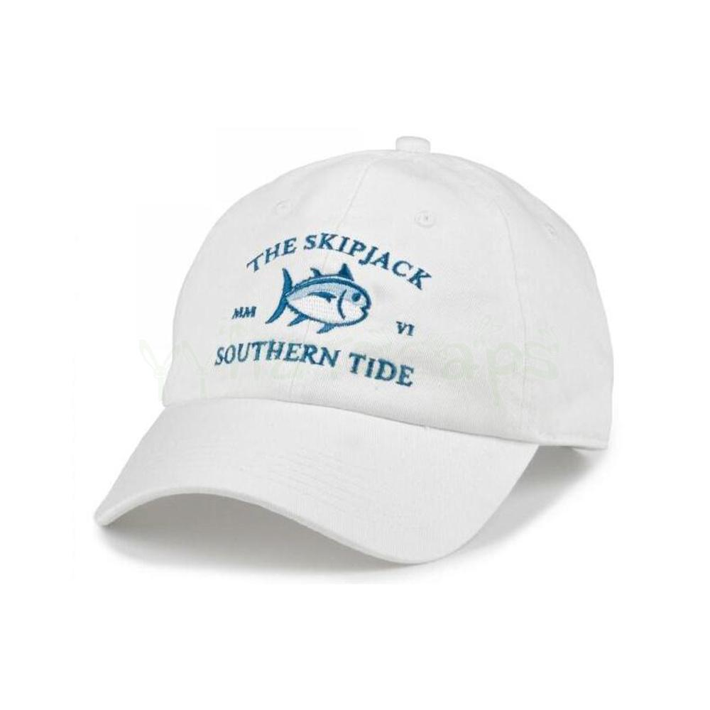 5c4e3483a05 New Mmvi Southern Tide Fish Embroidery Baseball Cap Bone Snapback ...