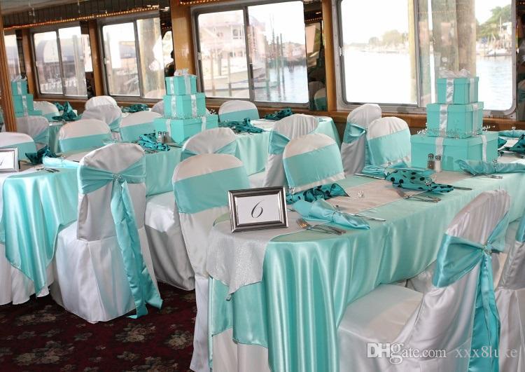 Cor pêssego faixa de cetim cadeira de alta qualidade gravata borboleta para capas de cadeira festa de casamento sash banquete do hotel decoração de casa por atacado